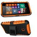 New For Nokia Lumia 635 Case 636 638 Phone Case 2in1 Dual Layer Kickstand Heavy Duty Armor Shockproof Hybrid Silicone Cover Case