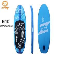 Серфинга 297 х 76 х 13 см Цзилун Z RAY E10 надувные САП доска веслом доска для серфинга каяк Спорт надувная лодка bodyboard