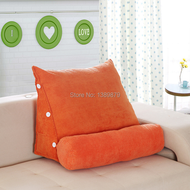 New promotional office sofa cushions on the bed backrest lumbar pillow neck pillow cushion large - Hacer cojines sofa ...