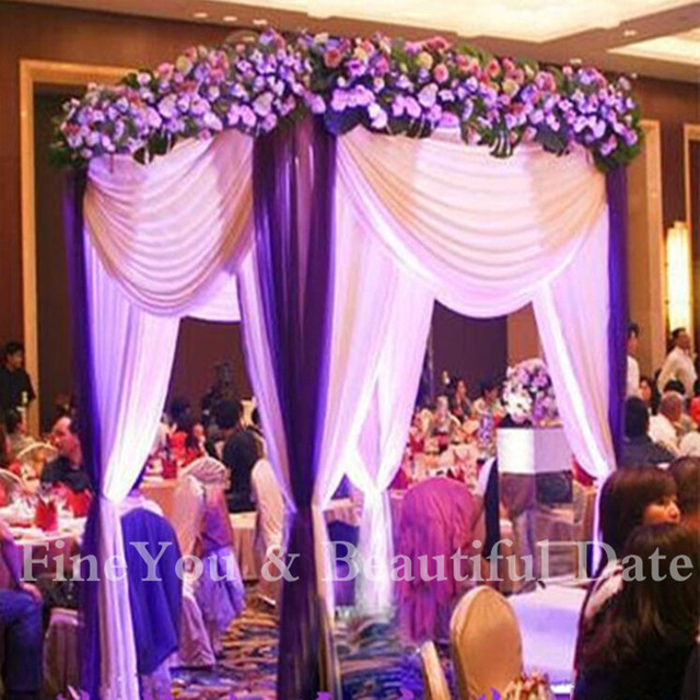 3x3x3m Stainless Wedding Ceremony Pavilionwedding Decoration