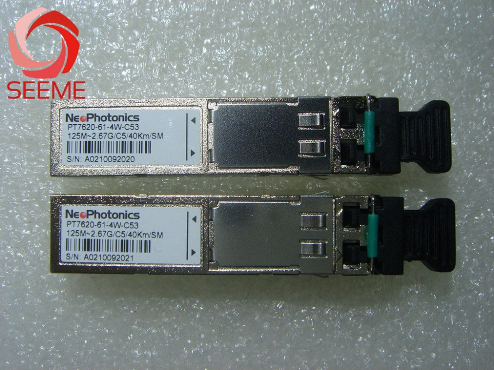 Neophotonics PT7620-61-4W-53 125M-2.67G-C5-40km-SMNeophotonics PT7620-61-4W-53 125M-2.67G-C5-40km-SM