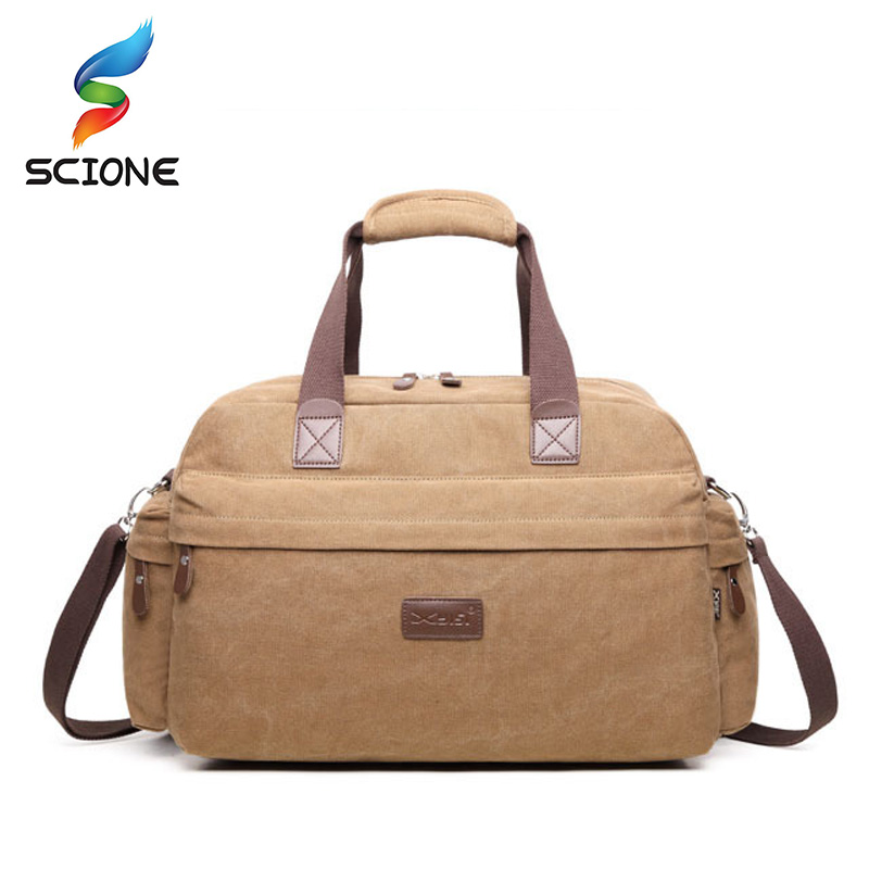 Outdoor Canvas Sports Gym Bag Men Travel Camping Luggage Bags Women Fitness Training Shoulder Handbags Yoga Duffles For Female 2018 professional nylon waterproof sports gym bag women men for the gym fitness training shoulder handbags bag yoga bag luggage