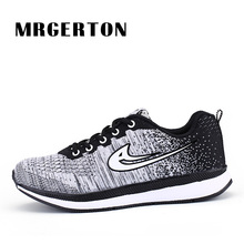Mens Running Shoes Womens New 2017 Sport Sneakers for ManTrainning Sneakers Breathable Walking Shoes zapatilla mujer MR22014