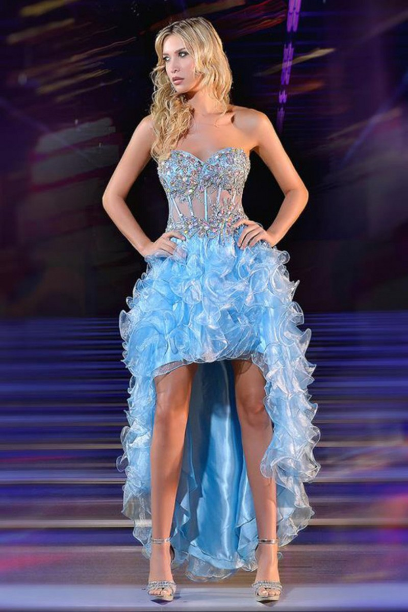 Popular Sparkly High Low Prom Dresses-Buy Cheap Sparkly High Low ...