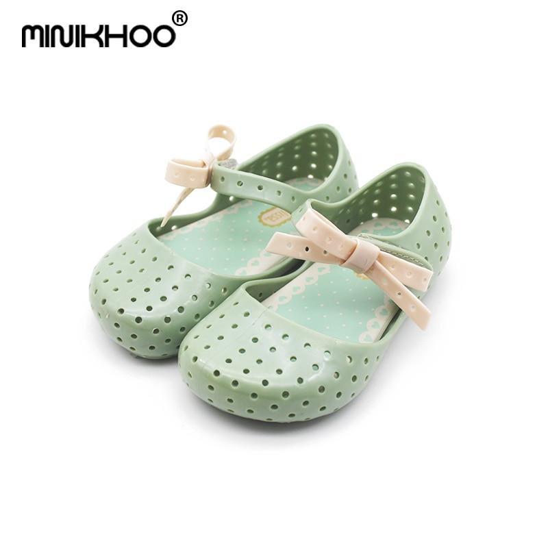 Mini Melissa 2018 Girls Shoes Children Sandals Jelly Sandals Melissa Baby  Girls Beach Shoes Kids Infantil Sandals Jelly Shoes 729ed1781