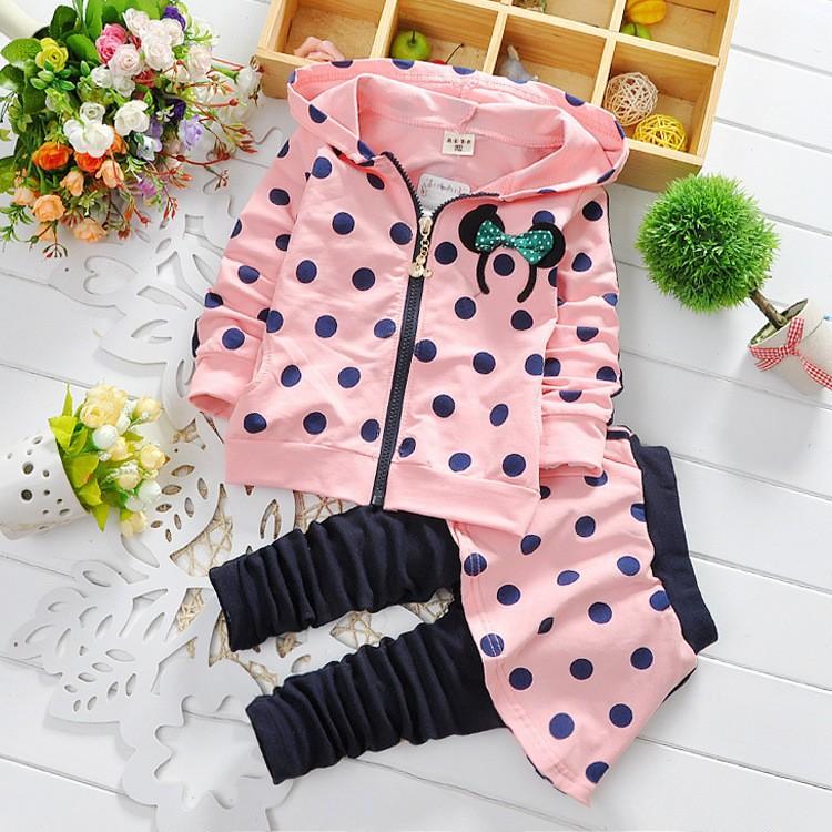 вкус дети девочки одежды наборы детская одежда наборы для девочек, весна детские костюмы для детей спортивный костюм девушки 2015