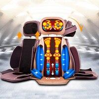 4D Air-sac Massage Pad Multifonctionnel Vibrations Appareil De Massage Complet du corps Chaise De Massage Dispositif