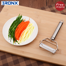 Multi-purpose Fruit Apple Potato Peeler grater  Stainless steel Tomato slicer cutter With 2 Blades kitchen tool accessories