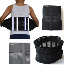 Men Waist Support Belt Women Lumbar Brace Fashion Breathable Protection Back Absorb Sweat Fitness Sports Protective Gear