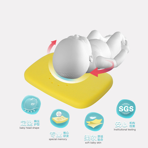 Image 2 - Подушка для ухода за ребенком, подушка для сна для детей, подушка для шеи кролика, позиционер для сна для младенцев, антироликовая подушка, плоская подушка для головы
