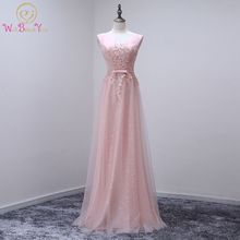 Walk Beside You Pink Bling Bridesmaid Dresses Sequined Sparkling Gray Long Prom Gowns Lace Applique V neck Party Dresses Real