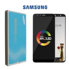 Pantalla LCD 100% ORIGINAL para Samsung Galaxy J6 + J610 J610F J610FN, digitalizador de pantalla táctil con ajuste de brillo, 5,6 pulgadas, 10 unidades/lote