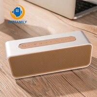 Bluetooth динамик будильник fm радио стерео 8 часов перезаряжаемый аккумулятор Hands free ж/микрофон светодио дный дисплей Micro SD слот AUX вход