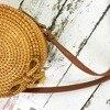 Bali Island Handmade Rattan Bow Circular Straw Woven 3