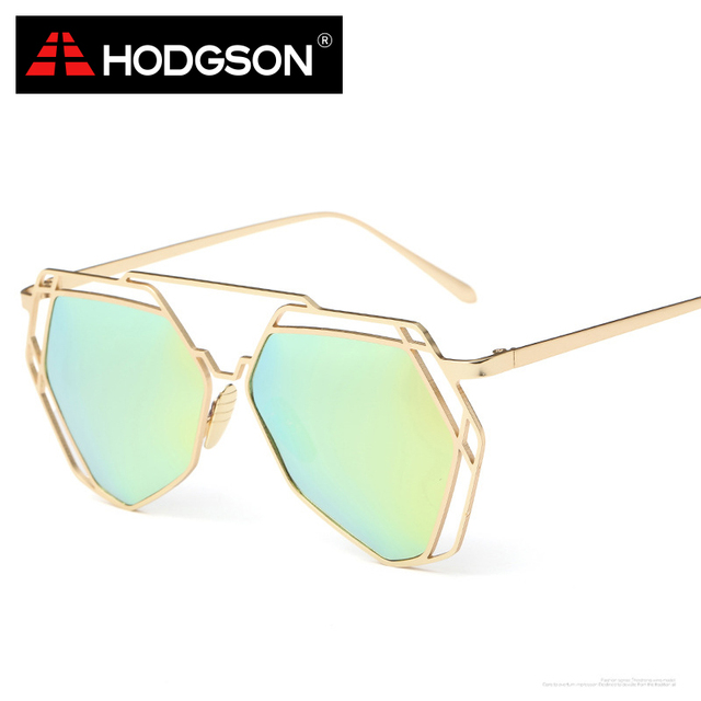 b15788d2c4 HODGSON UV400 Heptagon Shape Female Sunglasses Women s Polarized Sun Glasses  with Alloy Frame Eyewear Accessories 1071