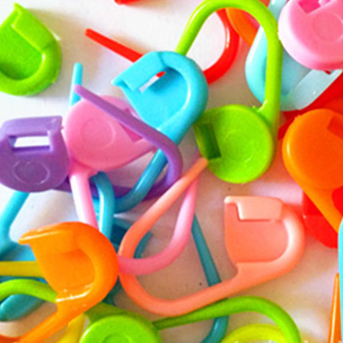 20/50 Buah 22 Mm Plastik Keselamatan Pin Sweater Mark Gesper Jarum Rajut Khusus Bayi Benang DIY Tenun alat