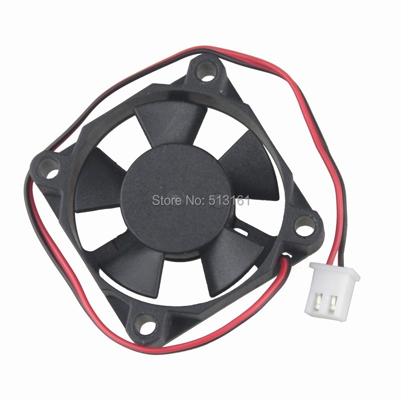 Купить с кэшбэком 5Pcs Gdstime Ball Bearing DC 5V 2Pin Mini Cooling Brushless 3510 Fan 35MM 35x35x10mm Small Cooler