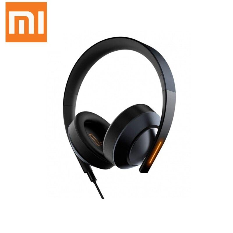 Original Xiaomi Mi Gaming Headset 7.1 Virtual Surround Sound Headphones with LED Light Noise Cancelling Volume Control цена