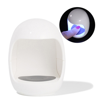 Egg Shape Nail Lamp Gel Curing Mini LED 4
