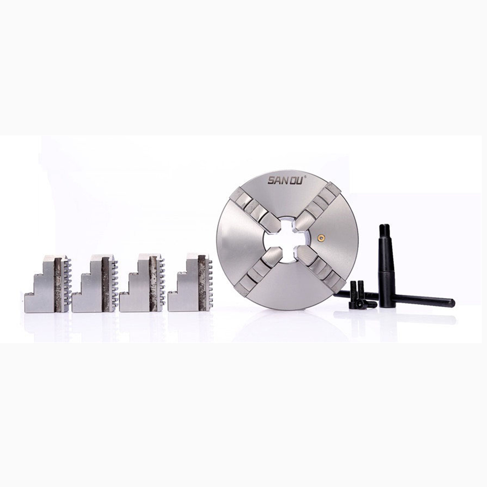 CNC LATHE Chuck 4 Jaw Self-Centering 3 K12-80 K12 80 Hardened Steel for Drilling Milling Machine manual lathe chuck k01 80b k01 100b mini 3 jaws chuck 14 1 self centering clamping hardened steel lathe chuck