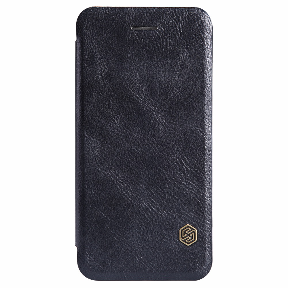 1 PCS for iphone 6 6s Crazy horse pattern Nillkin Vintage Qin flip PU leather hard