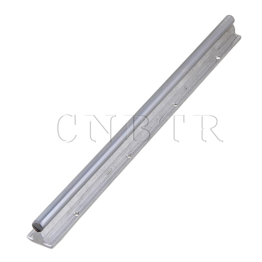 CNBTR L400mm 12mm Shaft Dia Linear Bearing Support Rail CNC Linear Motion цены