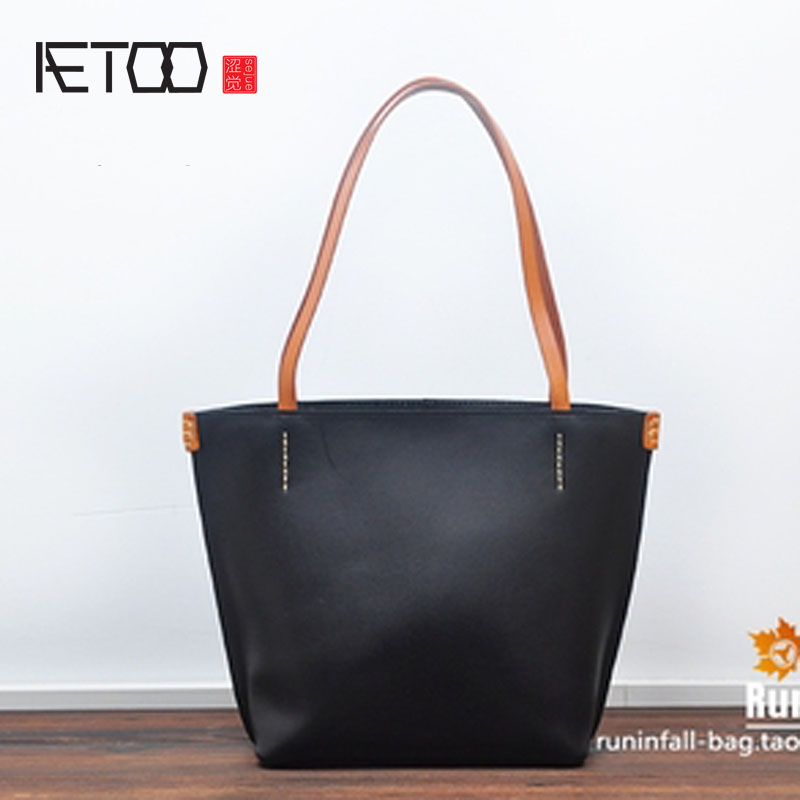 Фотография AETOO Wild first layer of leather women