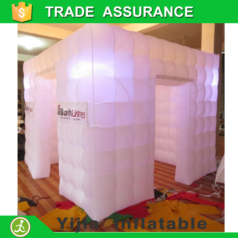 Color Tent Black Booth Photobooth Open Cube Air Photo 8ft Inflatable c5L3j4SARq