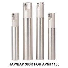 BAP 300R C20-20-120 D20 LENGTH 120, фрезерный инструмент, держатель, торцевая фреза, для cnc фрезерного станка для вставки APMT1135, APMT1135PDR, APMT