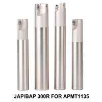 1PC BAP 300R milling cutter 120-250mm Milling tool holder face milling cutter for carbide insert APMT1135 APMT 1135PDR