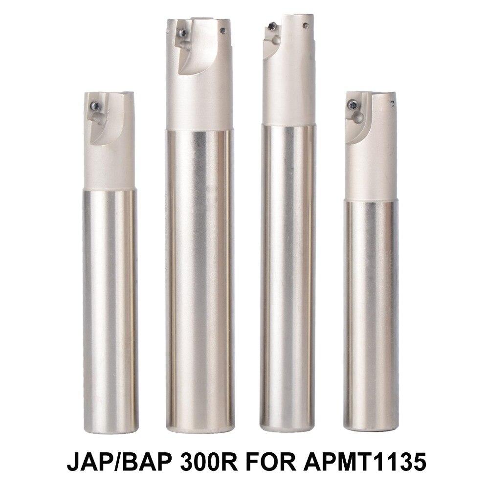 BAP 300R C20-20-120 D20 LONGITUD 120 soporte de herramientas de fresadora con fresas de superficie para máquina fresadora CNC para la inserción de APMT1135 APMT1135PDR APMT