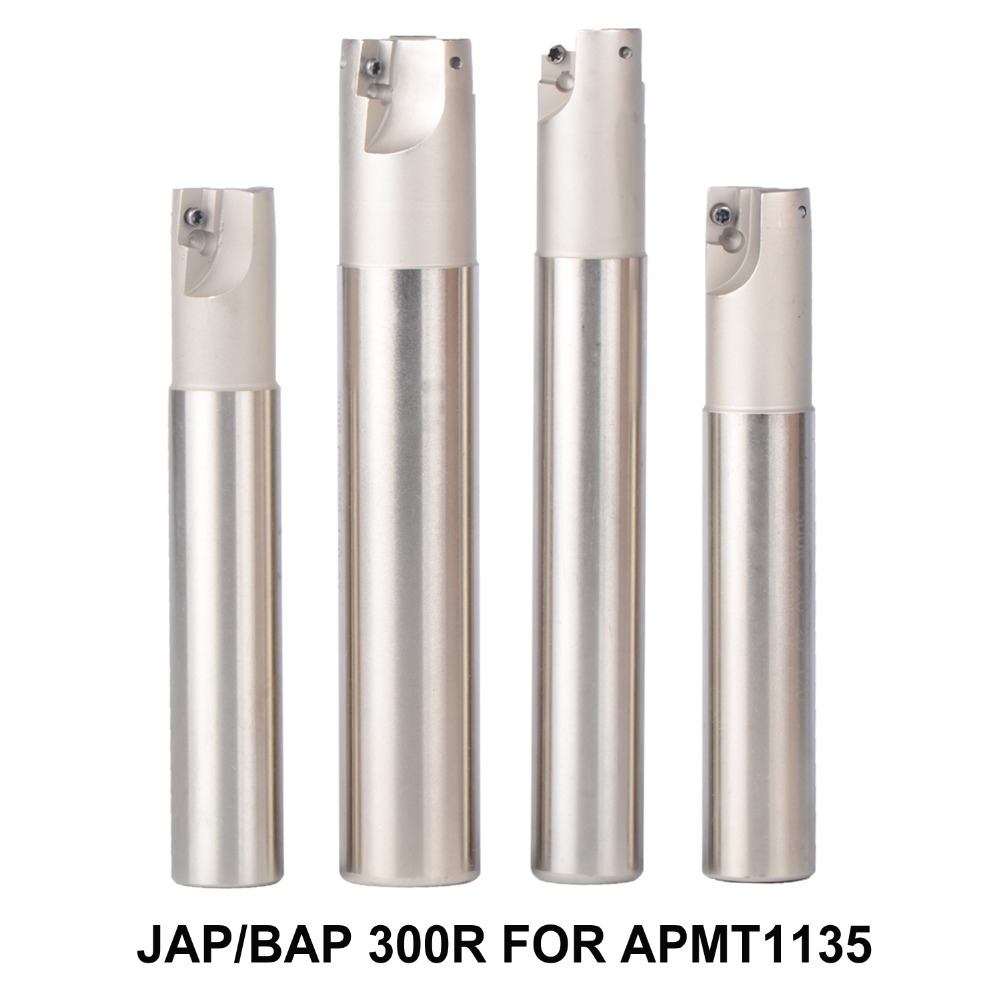 все цены на BAP JAP 300R Series LENGTH 100-250 Milling tool holder face mill for cnc milling machine for insert APMT1135 APMT1135PDR