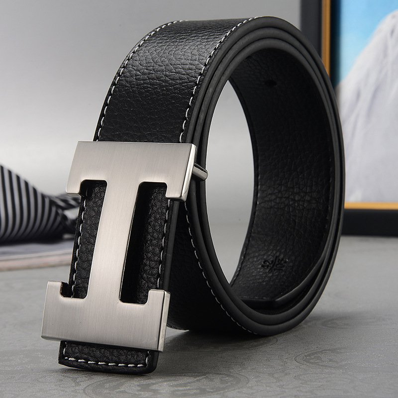2019 Fashion Arrival Luxury Brand Male Female Casual Genuine Real Leather Buckle Brand Men Designer Brand   Belts   For Women h   belt