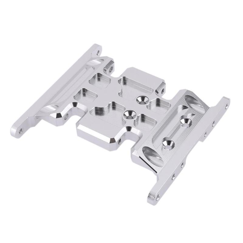 High Quality Aluminum Alloy Gear Box Mount Holder For Axial SCX10 1/10 Rc Crawlers and Suitable TFL Frame Fiber Wave Box Base