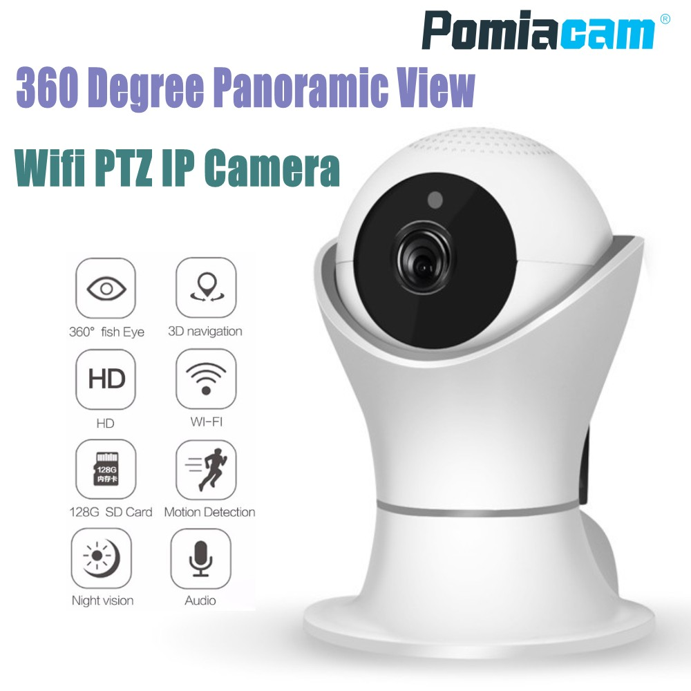 Novo Modelo EC39 360 graus de Rotação PTZ Wifi IP de Rede Sem Fio Da Câmera 1080 p Câmera De Segurança CCTV Casa 360eye vídeo monitor do bebê
