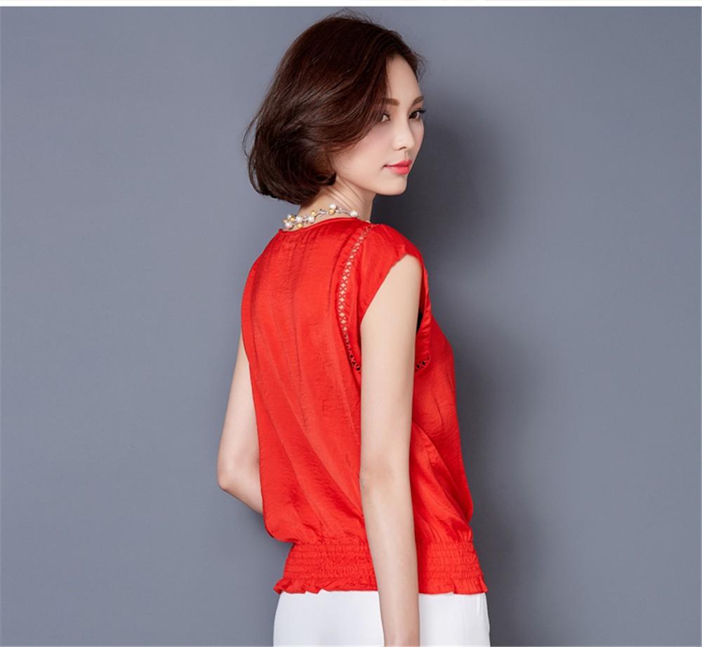 Big Size M-3XL Luxury Chiffon Tank Top For Women Summer Fashion Crop Tops Women\'s Sleeveless Tank Vest Tops Lady Sexy Camis (9)