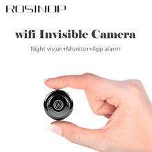 ROSINOP Invisible camara IP Camera wifi mini kamera CCTV Wireless Cam Infrared Night Video Surveillance onvif Home Security