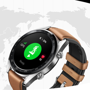 Image 2 - Huawei Watch GT สมาร์ทนาฬิกาสนับสนุน GPS 14 วันอายุการใช้งานแบตเตอรี่ 5 ATM กันน้ำโทรศัพท์ Heart Rate Tracker สำหรับ Android IOS