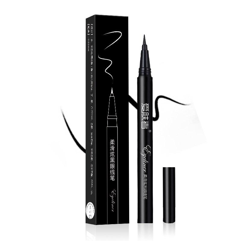Black Waterproof liquid Eyeliner Makeup Beauty salon Long-term Eyeliner Eyeshadow Makeup tool IFZA