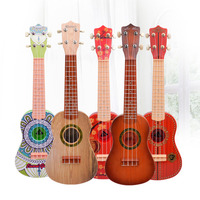 High Quality 4 Strings Music Electric Guitar Wooden Guitar Kids Musical Instruments Educational Toys