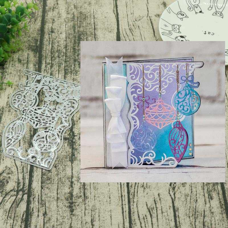 Christmas lantern Metal Cutting Dies New 2018 Craft Stamps die Cut Embossing Card Making Stencil Frame