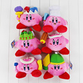 6Pcs/Lot Kirby Plush Dolls Toy 13-20cm Stuffed Soft Toys Great Gifts