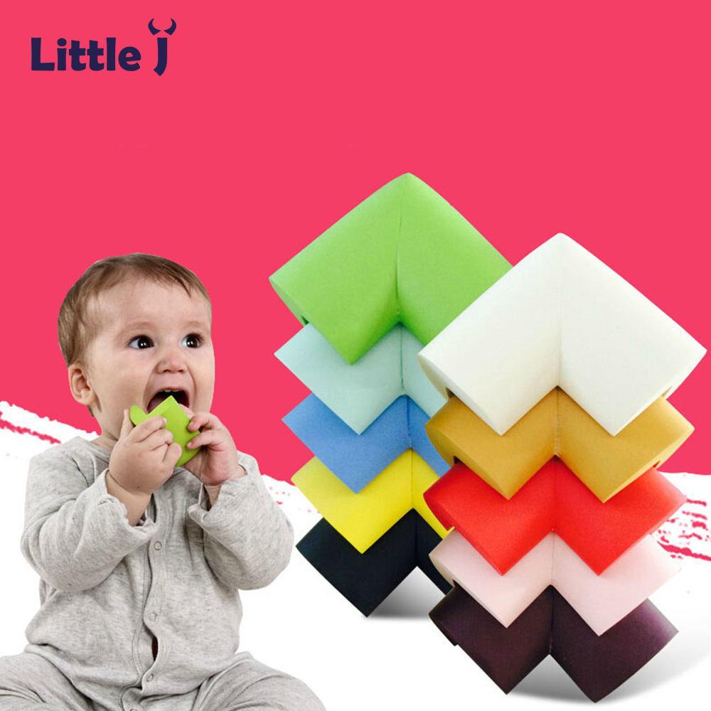 8Pcs/lot 60*60*12mm Children Protection Corner Soft Table Desk Children Safety Corner Baby Safety Edge Guards