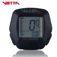 VETTA RT233 bicycle bike cycling Computer wired speedometer Speed computer waterproof