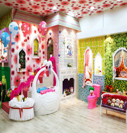 little princess bedroom for children photos background ...