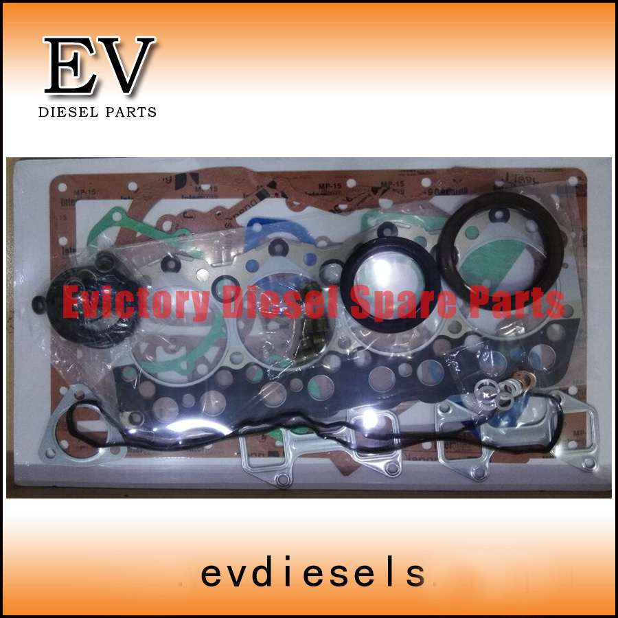 Cylinder Head Gasket 2 Per Engine 07v103147: For Cat Excavator 3044 FULL GASKET KIT / Cylinder Head