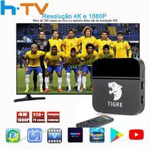 цена на ai tak pro 1 brasil TIRE2 Tigre tv HTV6 BOX Brazilian Portuguese TV Internet Streaming box Live IPTV Movie Brazil Media Player