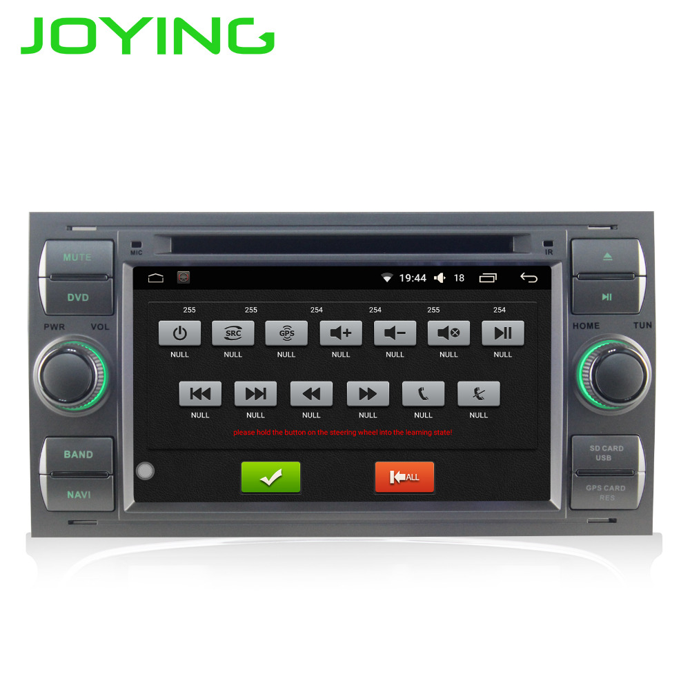 JOYING Android 6.0 RAM 2 gb 2 din Voiture Radio stéréo BT autoradio GPS Pour Ford Mondeo S- max Point C-MAX Galaxy Fiesta Fusion NO DVD