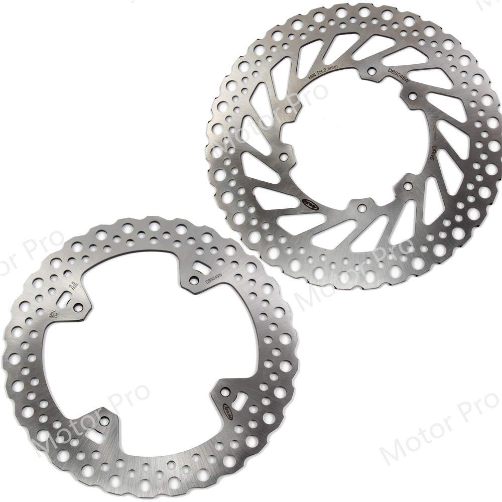 For Honda CRF 250 R 2004 - 2014 Front Rear Brake Disc Disk Rotor Kit CRF250R CRF250 250R 2006 2007 2008 2009 2010 2011 2012 2014 все цены