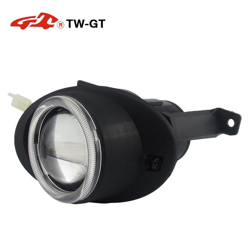 TW GT автомобиль Стайлинг DIY 2,5 дюймовый hid Биксеноновая противотуманные лампы проектора объектив foglight H11 для VOLKSWAGEN Saveiro Tiguan Touareg Touran